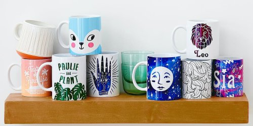 Make Your Own Custom Mugs with This New Cricut Machine