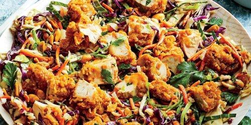 Crunchy Chicken-Peanut Chopped Salad Recipe | Southern Living