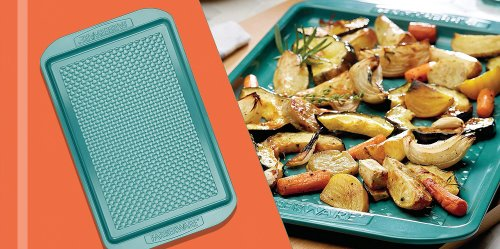 This Colorful Ceramic Baking Sheet Is the 'Best Pan You Will Ever Cook On,' According to Reviewers