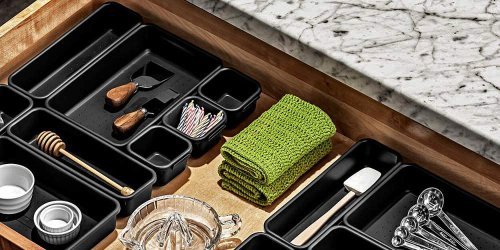 These Inside-the-Drawer Organizers Are the Secret to Doubling Your Counter Space
