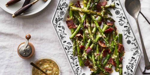 My Husband's Secret to Irresistible Roasted Asparagus Is Sitting In Your Spice Rack