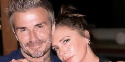Victoria Beckham Shares a Cheeky Shot of Husband David in the Pool: 'You're Welcome'