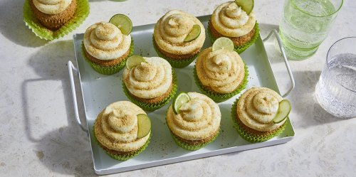 Serve a Dose of Sunshine with Our Key Lime Cupcakes
