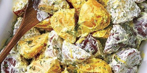 Lemon Dill Potato Beet Salad Recipe | Southern Living