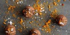 Discover caramel chocolate
