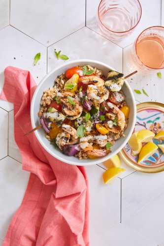 Shrimp Grain Bowl