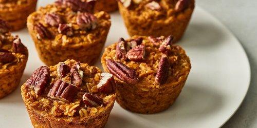 Pumpkin-Oatmeal Muffins