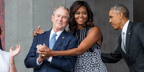 George W. Bush Says He Was 'Shocked' by Public Reaction to His Friendship with Michelle Obama