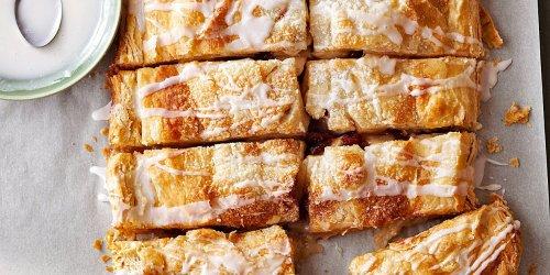 Easy Apple-Cranberry Slab Pie