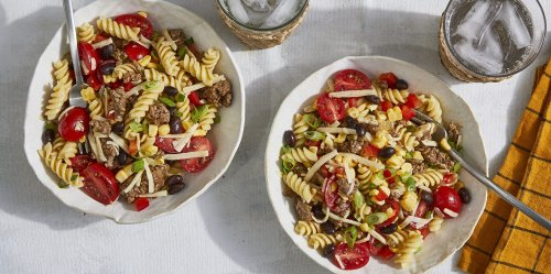 This Cowboy Pasta Salad Is An Instant Crowd-Pleaser