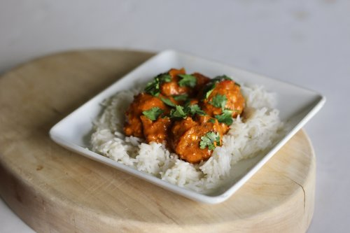 Spicy Chicken Curry Meatballs
