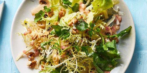 Winter Salad with Toasted Walnuts