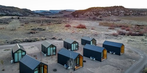 This Chic New Campground Has Instagram-worthy Cabins, Designer Airstreams, and a Drive-in Movie Theater
