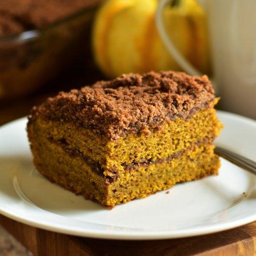 Pumpkin Spice Latte Coffee Cake