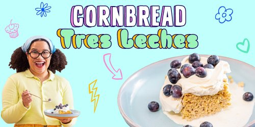 This Cornbread Tres Leches Cake Is a Delicious Balance of Sweet and Savory