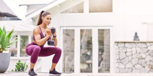 This 5-Move Full-Body Dumbbell Workout By Kelsey Wells Will Leave You Shaking