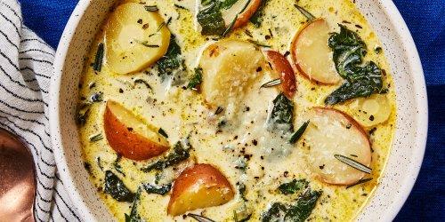 Vegetarian Potato-Kale Soup
