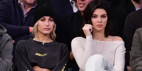 Kendall Jenner and Hailey Bieber Coordinated in Thong Bikinis on Vacation