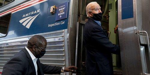 President 'Amtrak Joe' Biden Celebrates 50 Years of the Rail Company