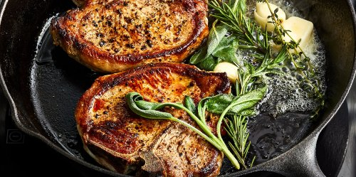 These Juicy Pork Chops Are Cooked Just Like Steak