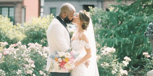 A Classic-Meets-Modern City Wedding Inspired by the Boston Public Garden