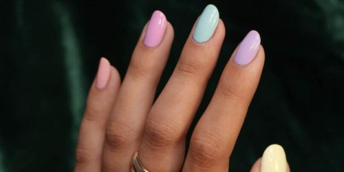 The Summer Nail Color Trend That's Like a Party On Your Fingertips
