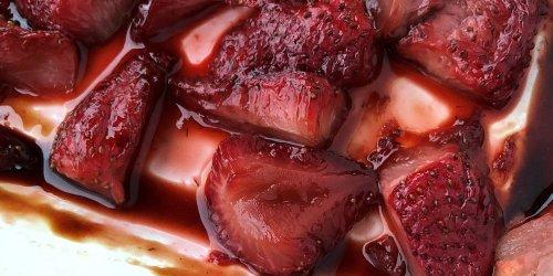 16 Ways To Enjoy Strawberries With Balsamic Vinegar