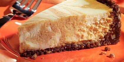 Pumpkin-Swirl Cheesecake Recipe