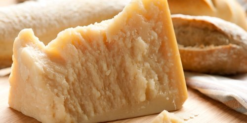 Is It True You Can Eat the Rind on a Wedge of Parmesan Cheese?