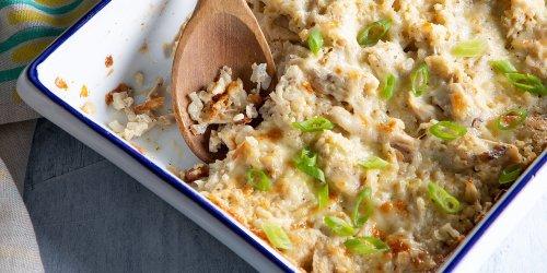 Chicken & Cauliflower-Rice Casserole