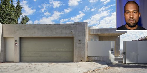 Kanye West's Former Minimalist Hollywood Hills Home Goes Back on the Market for $3.7M