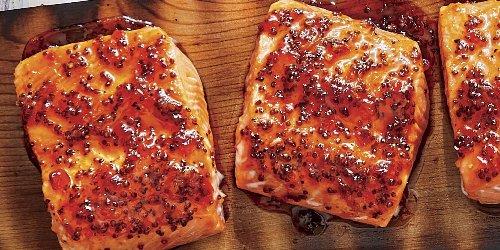 BBQ Cedar Plank Salmon Recipe   Southern Living