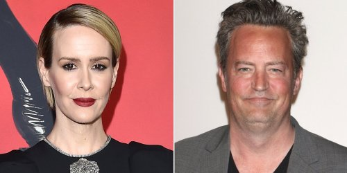 Sarah Paulson Jokes Matthew Perry Once 'Left the Room' Rather Than Kiss Her at 'Make-Out Party'