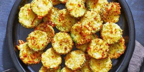 Air-Fryer Zucchini Chips Recipe