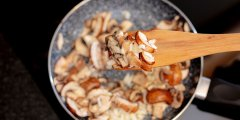 Discover cooking mushrooms