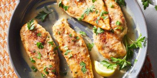 Creamy Lemon Chicken Cutlets
