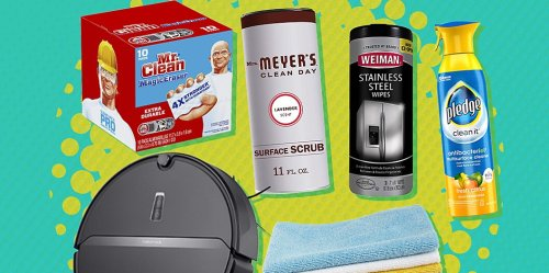 8 Kitchen Cleaning Products Our Editors Can't Live Without