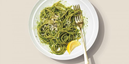 Beyond Basil, Pine Nuts, and Parmesan, Here's How to Make Pesto with Different Herbs and Nuts