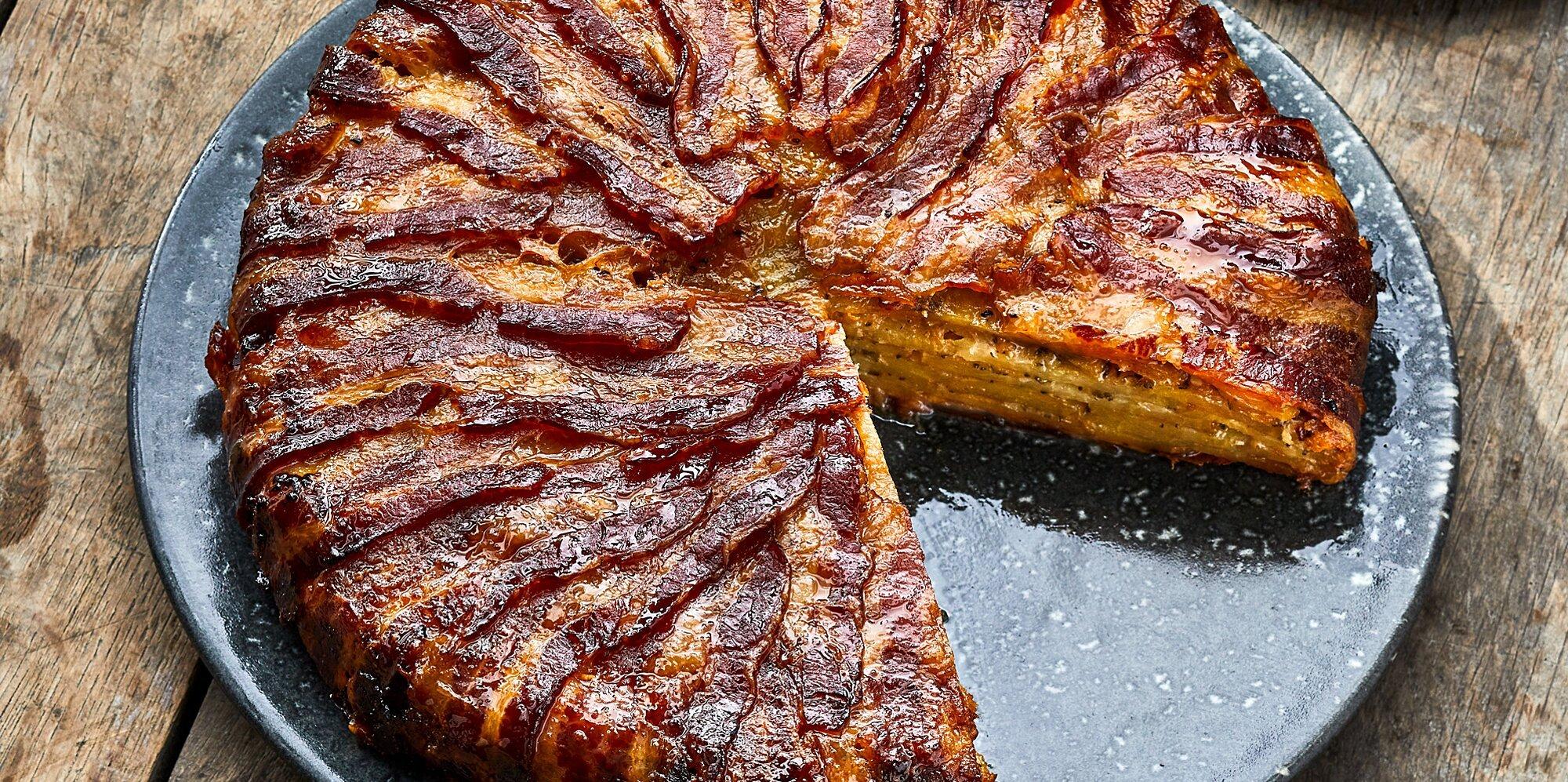 Potato, Bacon, and Cheddar Tart