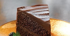 Discover double chocolate cake