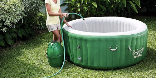 This Inflatable Hot Tub Is Exactly What We All Need Right Now- And It's An Amazon Best-Seller