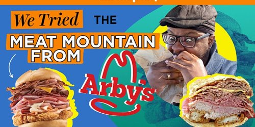 We Tried the Meat Mountain From Arby's Secret Menu