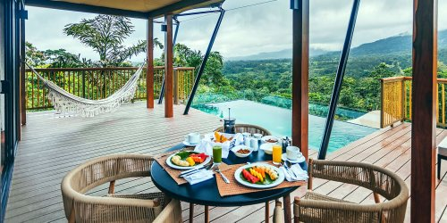 You Can Work From a Dreamy Luxury Tent With a Private Pool in the Costa Rican Rain Forest