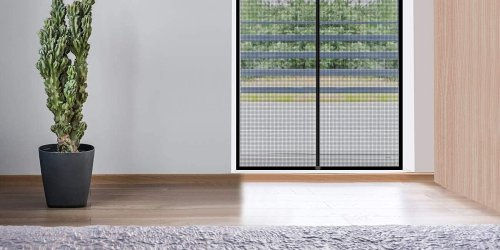 "This Magnetic Screen Door Is a ""Game Changer"" for Keeping Bugs Outside in the Summer, According to Shoppers"