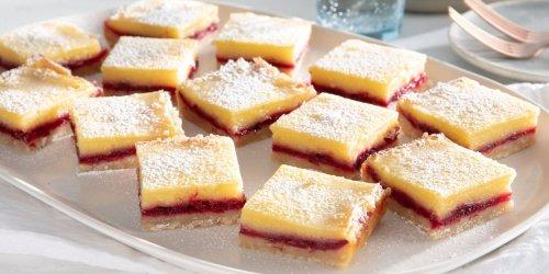 Cranberry-Lemon Bars