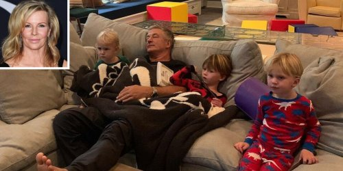 Kim Basinger Comments on Photo of Ex-Husband Alec Baldwin with Three of His Sons: 'So Cute'