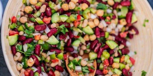 I Keep a Big Bowl of This Five-Bean Salad in My Fridge All Summer Long