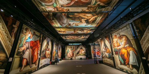 Immersive Sistine Chapel Exhibition Coming to Charleston