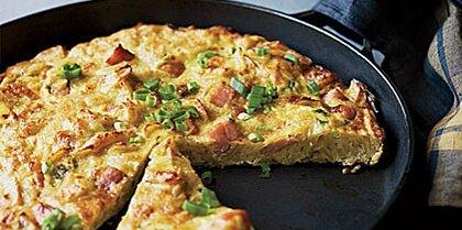 Ham and Potato Chip Tortilla Recipe