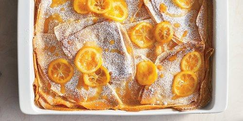 Lemony Crêpe Casserole Recipe